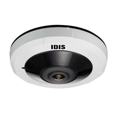 IDIS new super fisheye 5MP IR compact camera