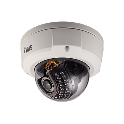 IDIS DC-D3233HRX Full HD IR Dome Camera With Heater
