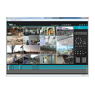 IDIS WEB client software