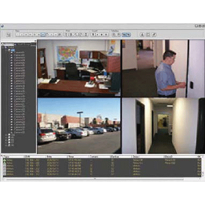 IDTECK iDWATCH IAD PRO I/II CCTV software with integrated monitoring of video surveillance and access control