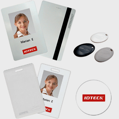IDTECK IMC125 access control tag with proximity technology