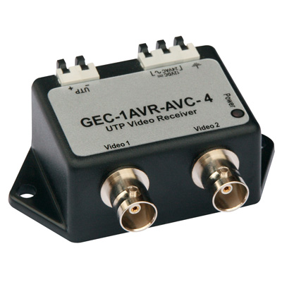 IFS GEC-1AVR-AVC-4 Single-channel Active UTP Receiver