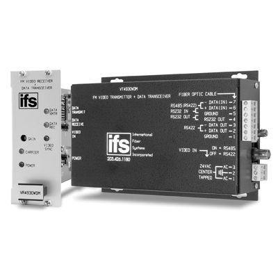 IFS VT4930WDM Video Transmitter / Data Transceiver