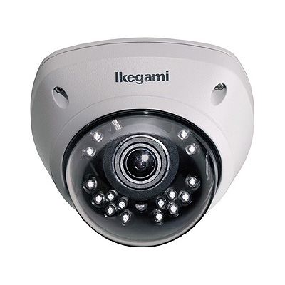 Ikegami SID-615P-IR true day / night static dome camera