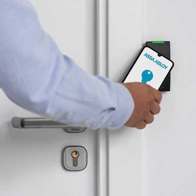 ASSA ABLOY Incedo Mobile Keys for keyless mobile entry