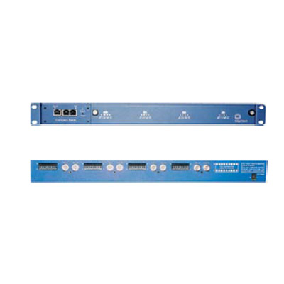 IndigoVision 4-Channel rack incorporating IndigoVision's class-leading compression technology