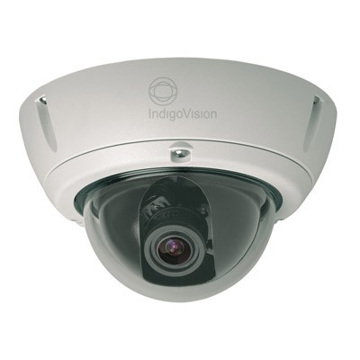 IndigoVision Fixed IP Dome Camera - Internal Vandal Resistant high-end professional fixed IP Dome camera with image quality that is as good as or better than analog fixed domes