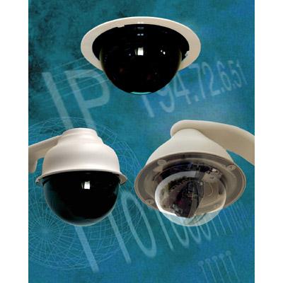 High quality IP dome cameras
