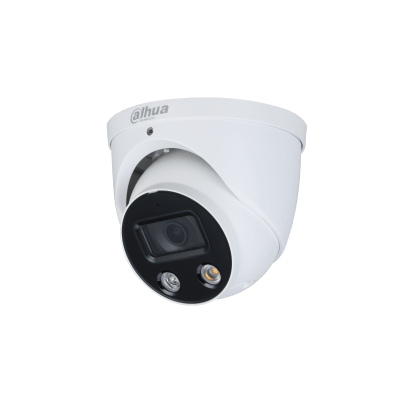 Dahua Technology IPC-HDW3449H-AS-PV 4MP Full-color Active Deterrence Fixed-focal Eyeball WizSense Network Camera