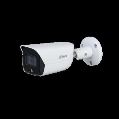 Dahua Technology IPC-HFW3549E-AS-LED 5MP Full-color Fixed-focal Warm LED Bullet WizSense Network Camera