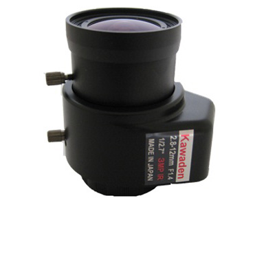 Kawaden KVM2812DIR megapixel IR corrected CS mount lens