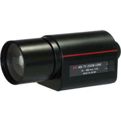 Kawaden KZ40X1045VPIR IR corrected 40X motorised zoom lens with video iris and Z/F preset