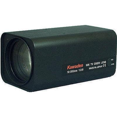 Kawaden KZM30X1028SVP 30X megapixel motorised zoom lens with video auto iris and Z/F preset