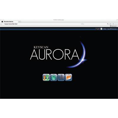 Keyscan AUR-WEB AURORA web access software license