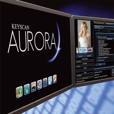Keyscan AURORA access control management software