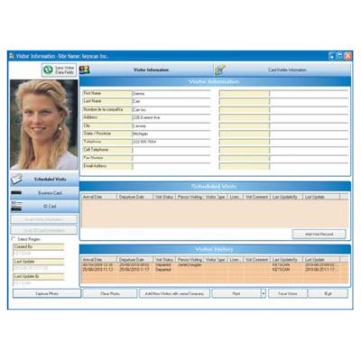 Keyscan K-VIS SYSTEM VII visitor management module