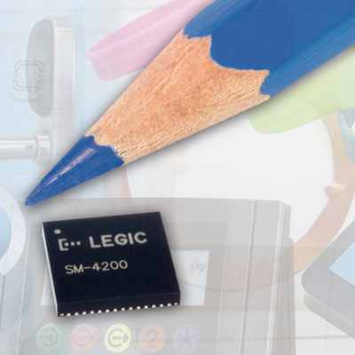 LEGIC advant 4000 reader chip generation fulfils high functional requirements