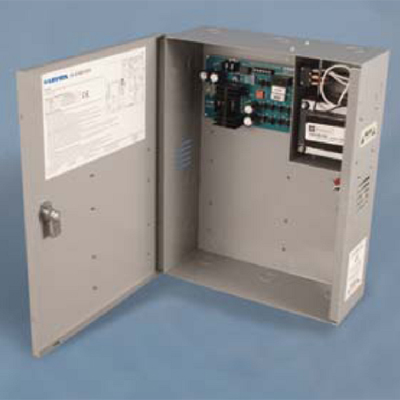 Lenel LNL-440X-CE220 access control system power supply with tamper switch and short circuit protection