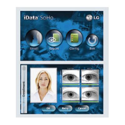 iData SoHo - the new stand-alone iris recognition platform from LG Iris