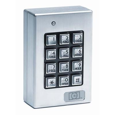 Linear 212SE surface mount environmental keypad