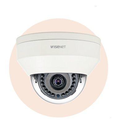 Hanwha Techwin America LNV-6011R 2M Vandal-Resistant Network IR Dome Camera