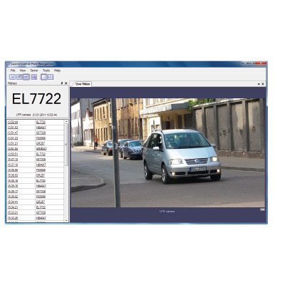 Luxriot LPR software - automatic licence plate recognition application