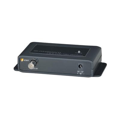 eneo MAM-5DC1004M0A Distributor, 1x BNC Input HD-TVI, CVI, AHD, CVBS, 4x BNC Output