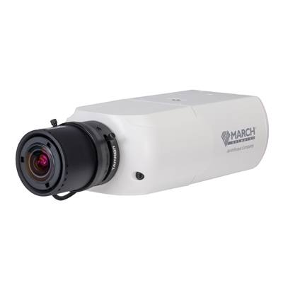 March Networks ME4 Box Camera with 4MP resolution