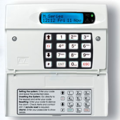 Menvier Security M600 Intruder alarm system control panel