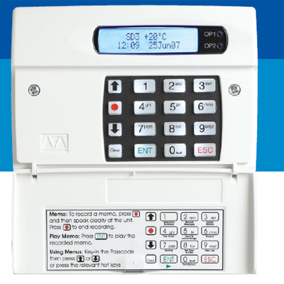 Menvier Security SD3-UK Intruder alarm communicator