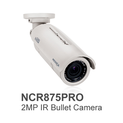 MESSOA releases NCR875PRO 2MP network bullet camera with IR function