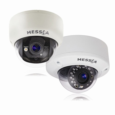 MESSOA launches 3MP fixed dome cameras with remote focus and zoom