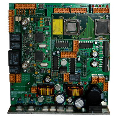 Meyertech ZVR-530-HCR ZoneVu advanced telemetry receiver PCB fitted with High Current relay option