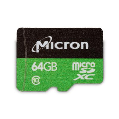 Micron 64GB Industrial microSD card