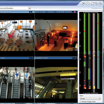 Complexity made simple: XProtect Corporate 3.0, Smart Wall and mapping give dynamic, interactive control
