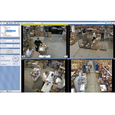 Milestone XProtect Essential CCTV software with built-in video motion detection