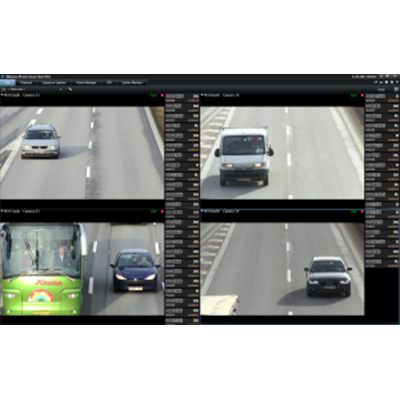 Milestone XProtect LPR 2015 licence plate recognition software at ASIS 2015