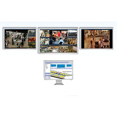 Milestone XProtect Smart Wall CCTV software with unique flexibility and hardware independence