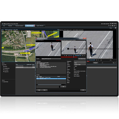 Milestone XProtect Smart Wall 2013 surveillance Software