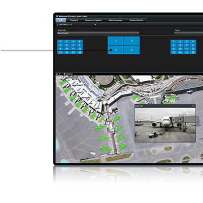 Milestone XProtect Smart Wall 2016 advanced video wall for complete overview of surveillance centres