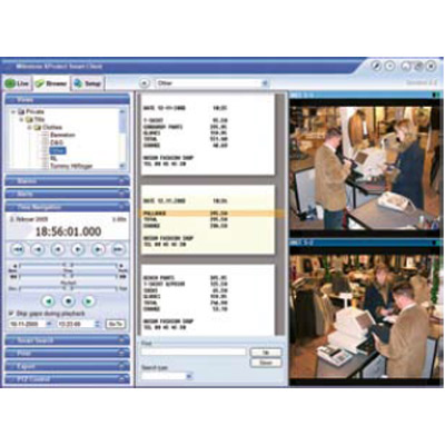 Milestone XProtect Transact CCTV software