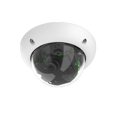 MOBOTIX MX-D25-BOD1-N 6 MP Color/Monochrome Indoor/Outdoor Security Dome Camera
