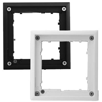 MOBOTIX MX-OPT-FlatMount-EXT-BL Black FlatMount Frame