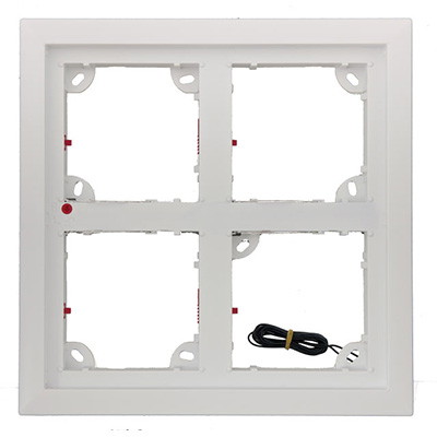 MOBOTIX MX-OPT-Frame-4-EXT-PW quad frame mount