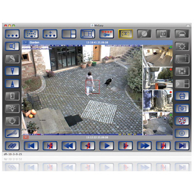 MxEasy: Intuitive control software for all MOBOTIX security cameras