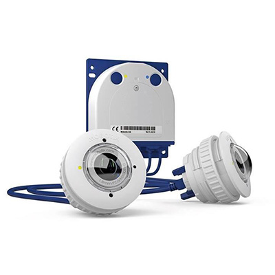MOBOTIX S15D FlexMount fully weatherproof IP camera with two miniature sensor modules