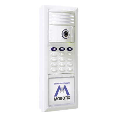 MOBOTIX presents the T24 Hemispheric IP Video Door Station