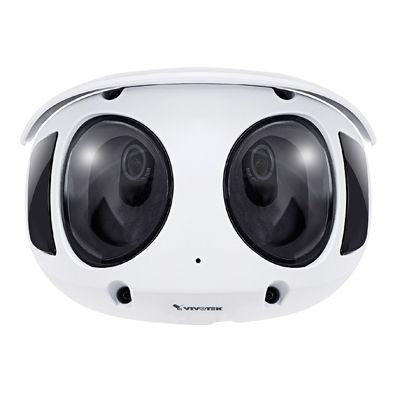Smarter ways with VIVOTEK 8MP 180° panoramic camera, MS9390-HV