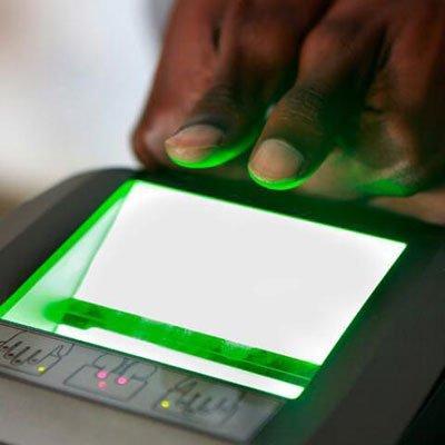 IDEMIA MTop fingerprint access control device