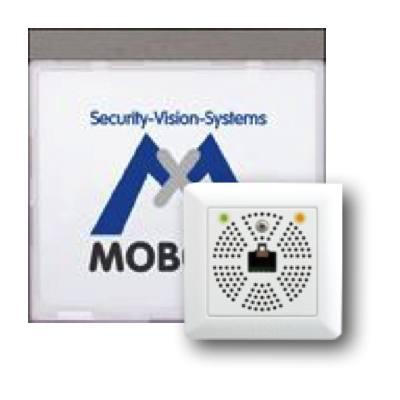 MOBOTIX MX-2wirePlus-Info1-EXT-DG Info Module Mx2wire+ With LEDs, Dark Gray